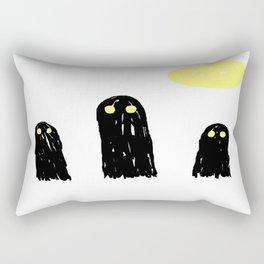Little ghostie boos Rectangular Pillow