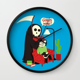 Guess Who Wall Clock