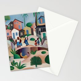 Tarsila do Amaral - Morro de Favela - Art Poster Stationery Cards