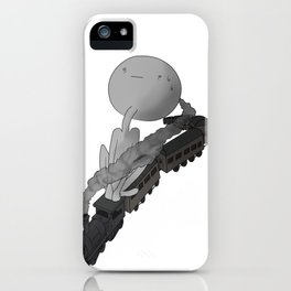 What am I doing? iPhone Case