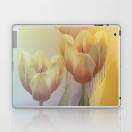 Tulips in golden light Laptop & iPad Skin