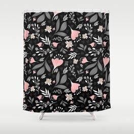 Spring Flowers Style P Shower Curtain