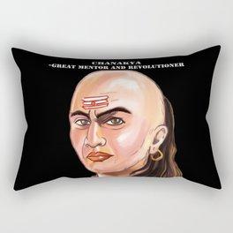 Chanakya - Great mentor and revolutioner Rectangular Pillow
