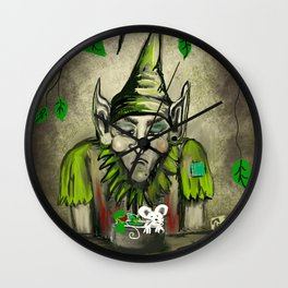 Low Carb Again Wall Clock