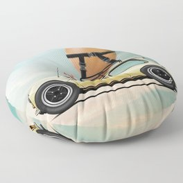 Bacon and Egg Floor Pillow
