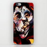 boxing iPhone & iPod Skins featuring Boxing Bacon by Genco Demirer