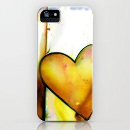 Heart Dreams 1B by Kathy Morton Stanion iPhone Case