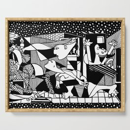 Picasso - Guernica Serving Tray