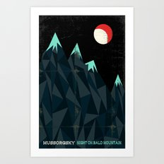 Night on Bald Mountain - Mussorgsky Art Print
