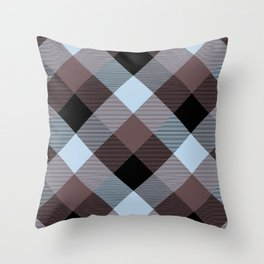 Geometrical Square Abstraction 12 Throw Pillow