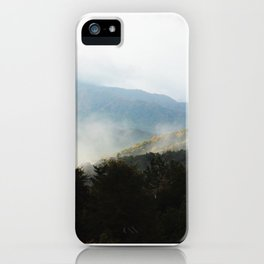 Morning Breath in the Smokies iPhone Case