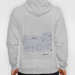 Cabin in the Snow (Color) Hoody