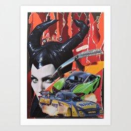 Wicked Escape Art Print