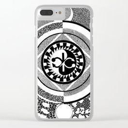 Infinity of Two Clear iPhone Case