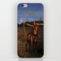 sagittarius iPhone & iPod Skins featuring Sagittarius by Viggart
