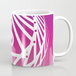 Radiant Abundance (warm purple-white) Coffee Mug