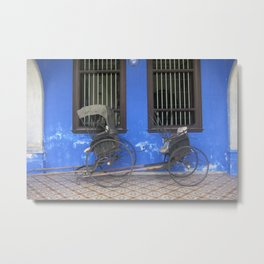 Blue Mansion in Penang, Malaysia (2013a) Metal Print