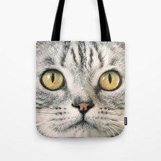 Cat's eyes....! Tote Bag