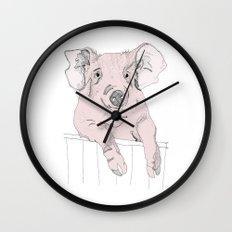 Piggywig Wall Clock