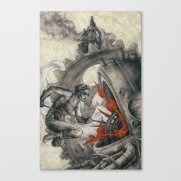 A Whisper In The Weld Canvas Print