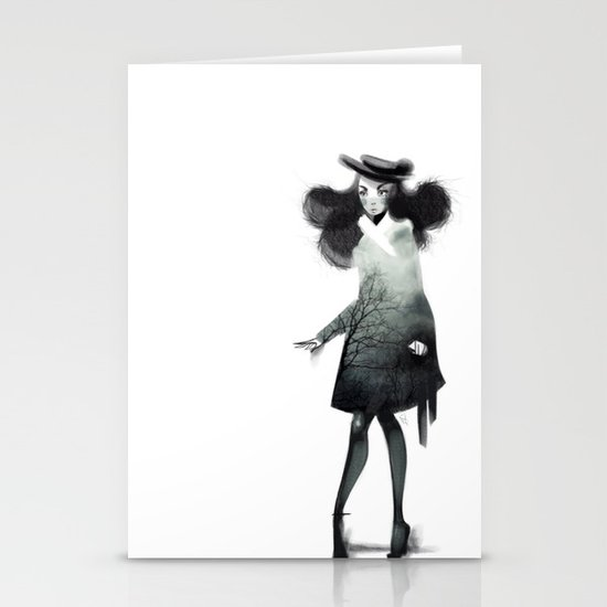 Fashion Doodle Stationery Cards