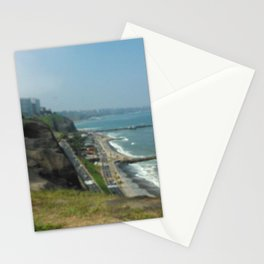 Beautiful Herradura Beach Lima Peru Stationery Cards