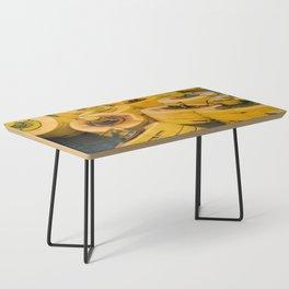 Yellow gathering Coffee Table