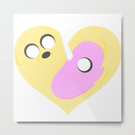 Tiers of Love - Happy Valentines Day ! Metal Print