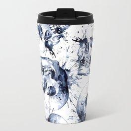 Skull Pattern Travel Mug