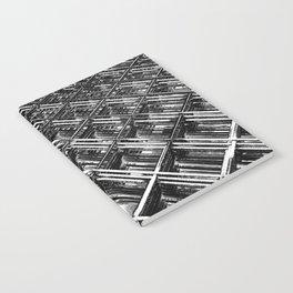Rebar On Rebar - Industrial Abstract Notebook