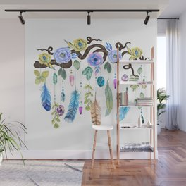 Wild Wood Roses And Twisted Branches Spirit Gazer Wall Mural