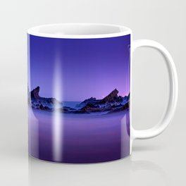 Still Waters Jagged Rocks Coffee Mug