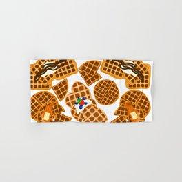 Waffle On Hand & Bath Towel