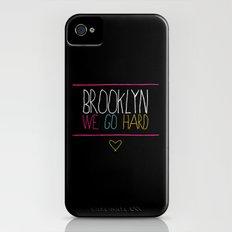 Brooklyn We Go Hard Slim Case iPhone (4, 4s)