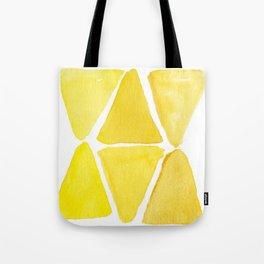 Sunny Triangles Tote Bag