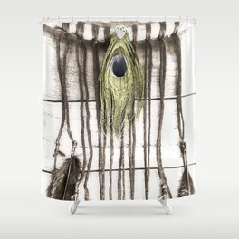 Feathered Dreams Shower Curtain