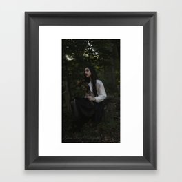 Hope through Death Framed Art Print