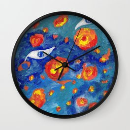 Snails abyss Wall Clock