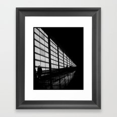 Waiting at the Airport Framed Art Print
