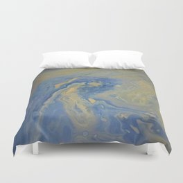copper wave Duvet Cover