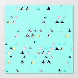 tringle mix/ bright Canvas Print