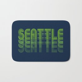 Seasons K Designs Seattle Fade Bath Mat