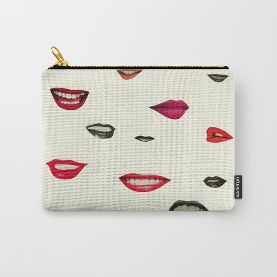 Stealing Kisses Carry-All Pouch