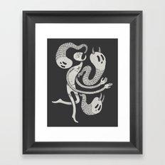 Galilean Demoniac Framed Art Print