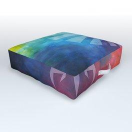 The Legend Of Zelda Triforce Rainbow Color Outdoor Floor Cushion
