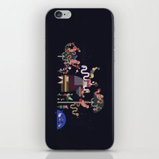 Monkeys and fruits iPhone Skin