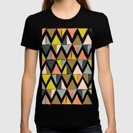 Colorful Geometric Triangle Pattern T-shirt