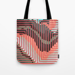 TOPOGRAPHY 2017-012 Tote Bag