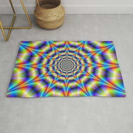 Psychedelic Wheel Rug