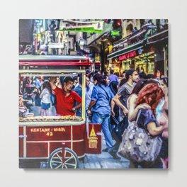 Istanbul Travel Diary - 05 Metal Print